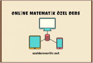 Online matematik özel ders